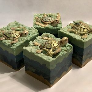 Sea Turtle Soap! Better lighting :))