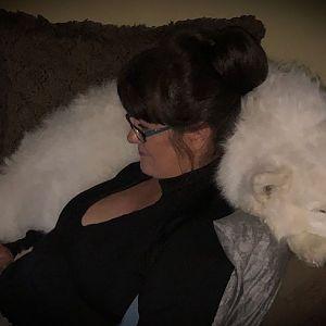 My Fur Pillow :)
