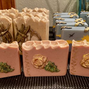 Damascus Rose Soap :)