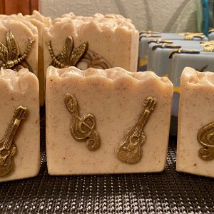 Oatmeal, Milk & Clay Soap :)