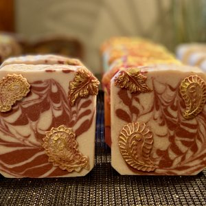 Peppermint EO Bear Tallow Soap!