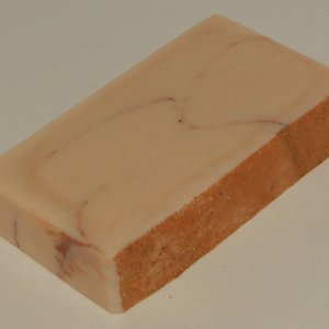 Sandalwood butcher's soap